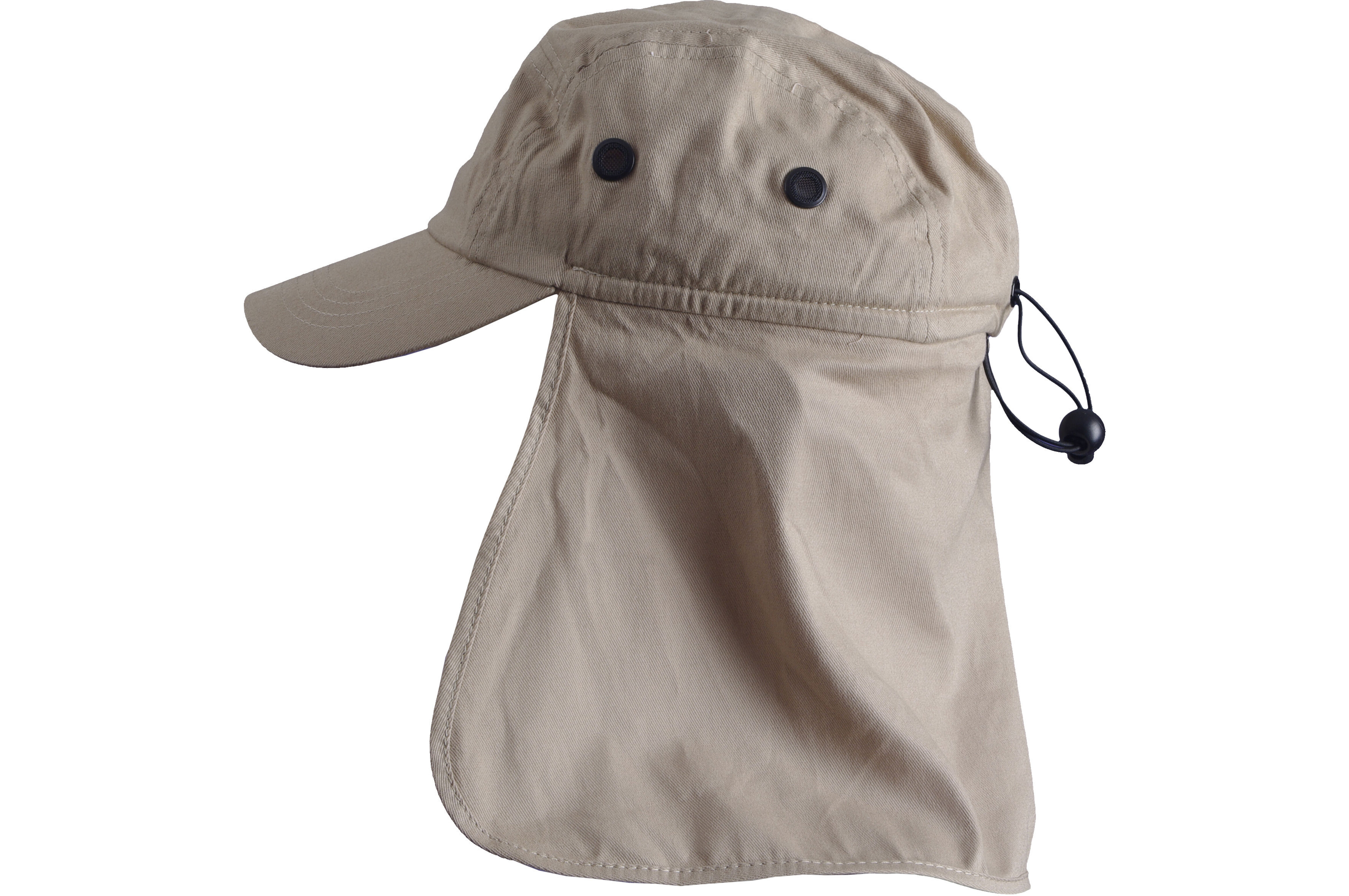 Basic Nature Gorra tipo legionario - Accesorios para la cabeza - con  protector de nuca gris 1314a366276